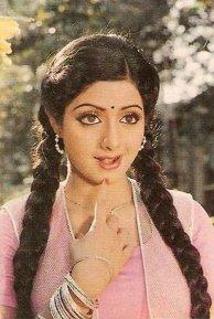 Sridevi in pink 1980s (1)